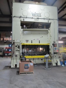 New 400 Ton Press